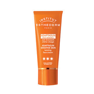 esthederm adaptasun peau sensible soin brozant creme visage