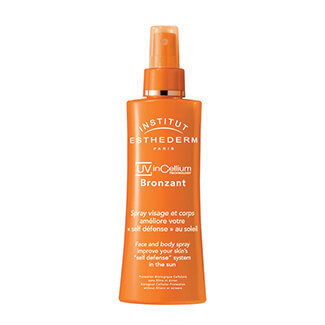 esthederm bronzant spray